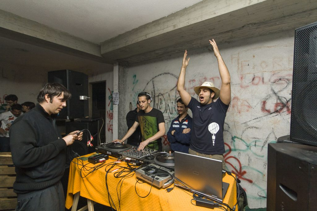 Boschetto Crew 3: Music Party in Susa Valley, Italy 2008