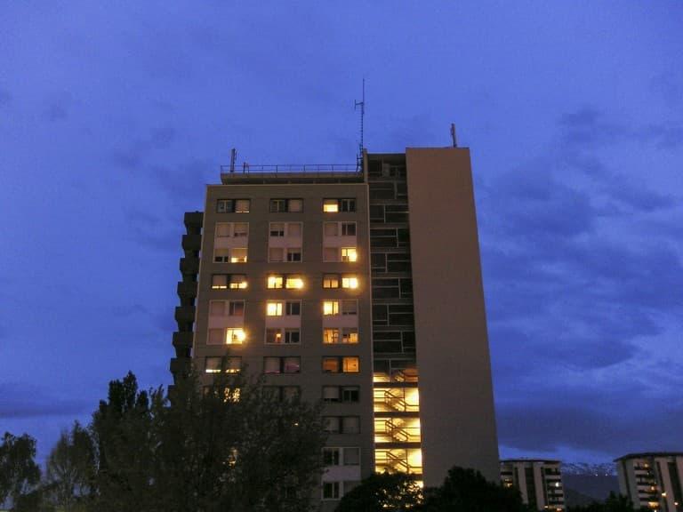 "House at the ""La Villeneuve"" neighborhood in Grenoble, France"