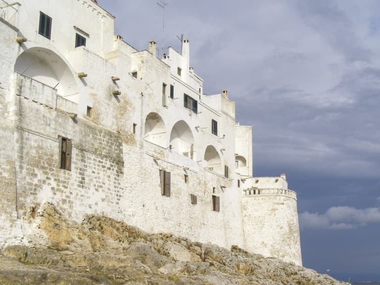 """The White Town"" of Ostuni, Puglia"