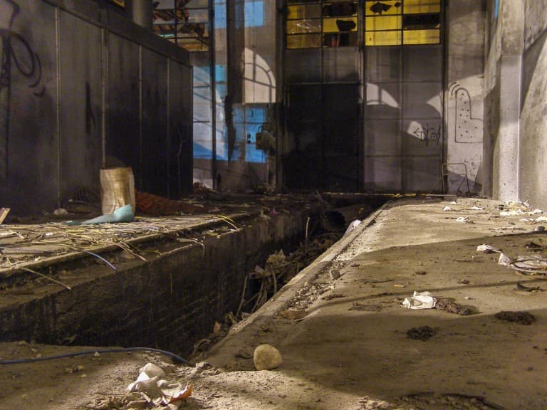 OGR – Abandoned Train Repairing Workshop in Turin, Italy