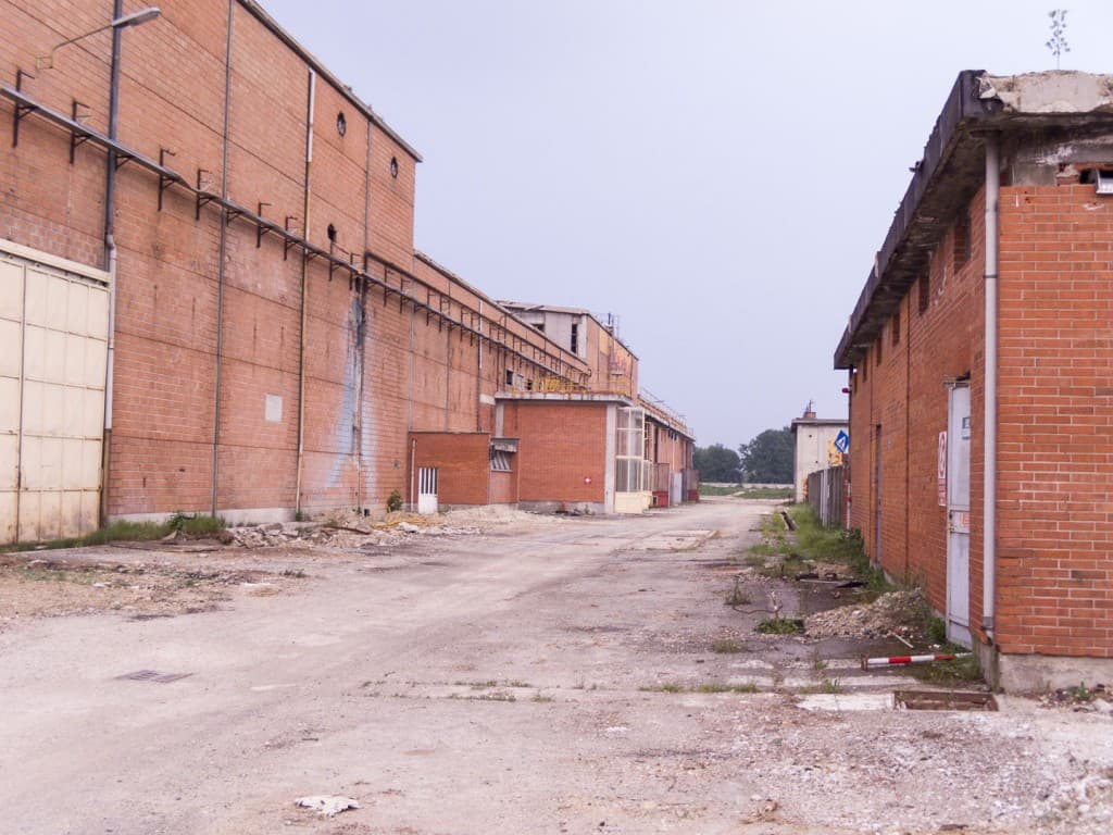Unknown Abandoned Factory in Nichelino, Italy