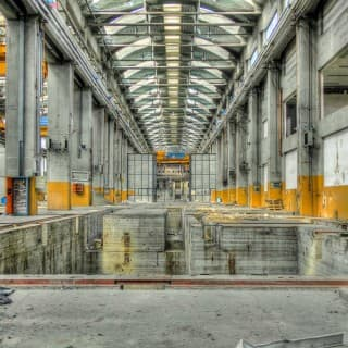 "Abandoned ""Fiat"" Foundries – Turin, Italy"