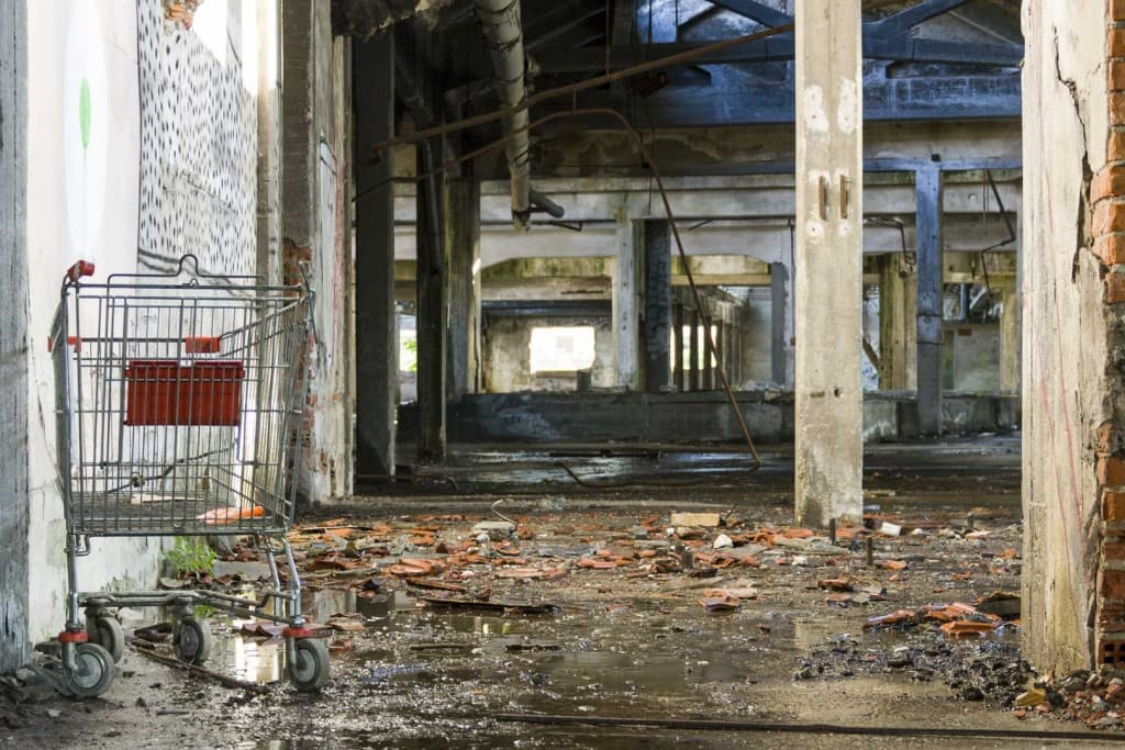 Shopping Cart at Garis – Abandoned Brakes Factory – Nichelino, Italy