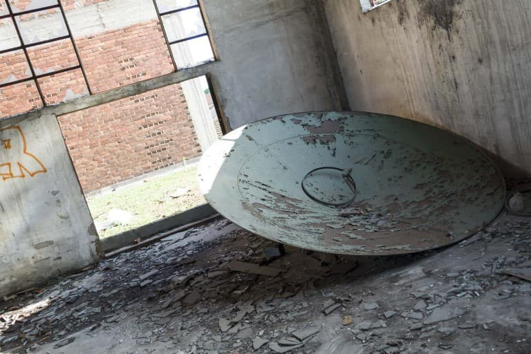 Metal Circle at Garis – Abandoned Brakes Factory – Nichelino, Italy