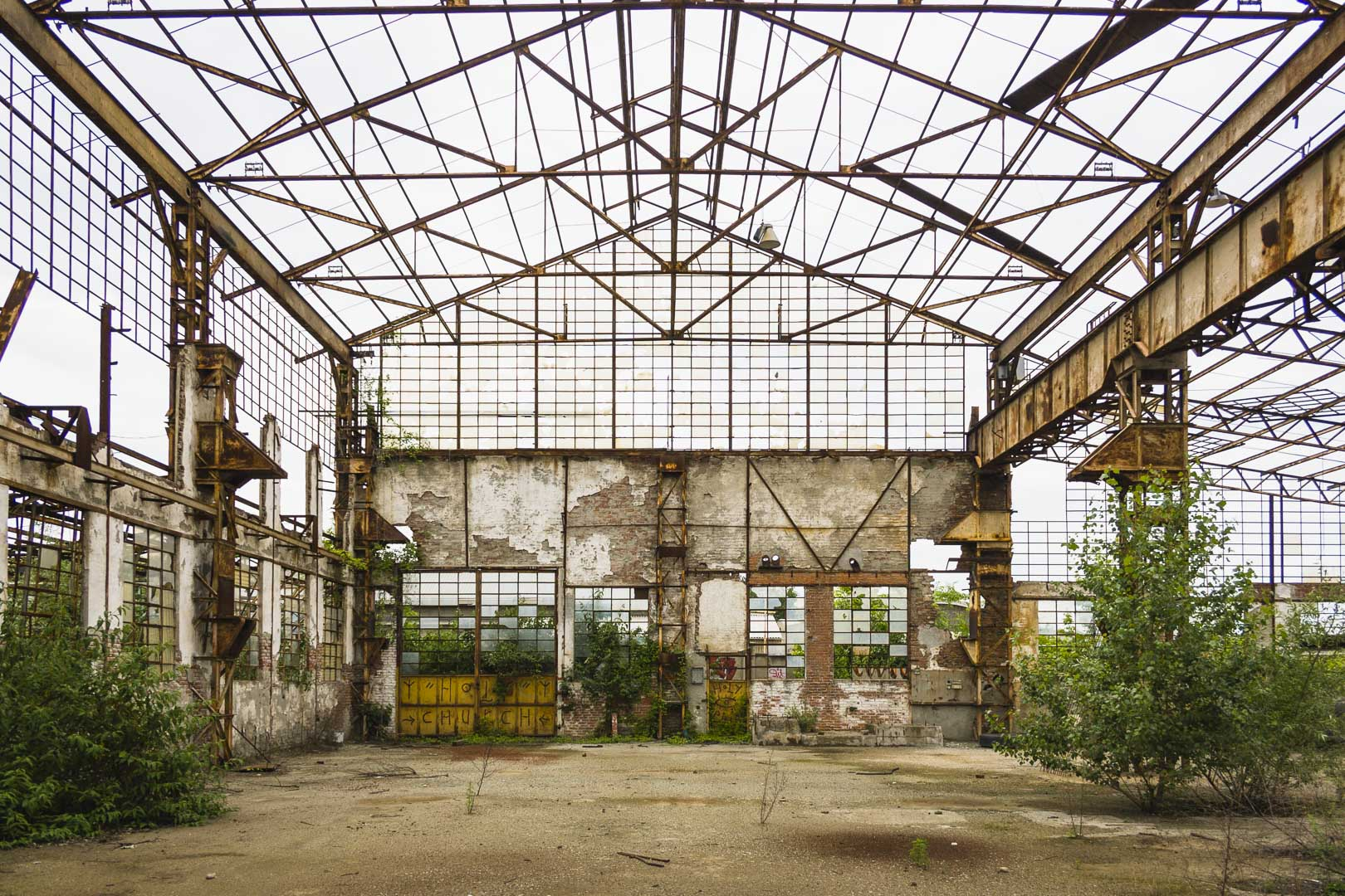 Mandelli – Abandoned Steel Mill – Collegno, Italy
