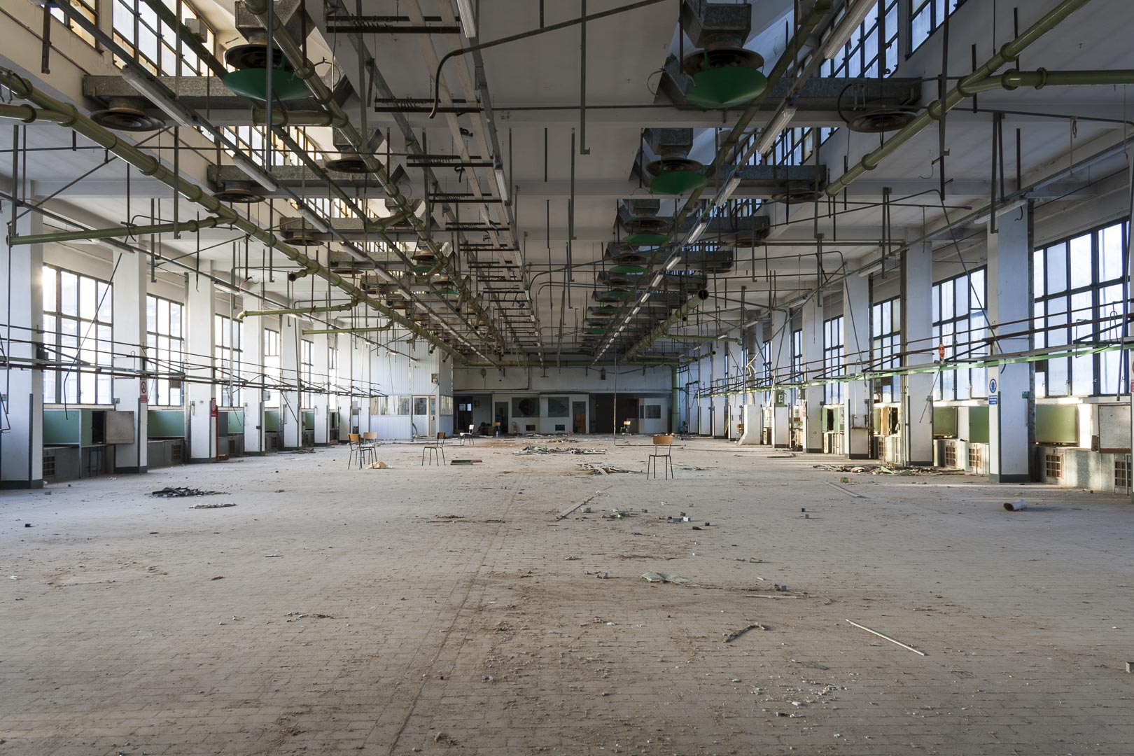Abandoned Cigarette Factory – Turin, Italy
