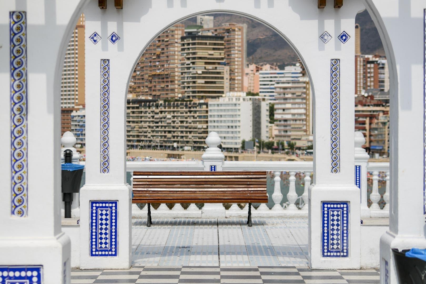 Benidorm (Alicante) – Spain, Balcón del Mediterráneo Arches