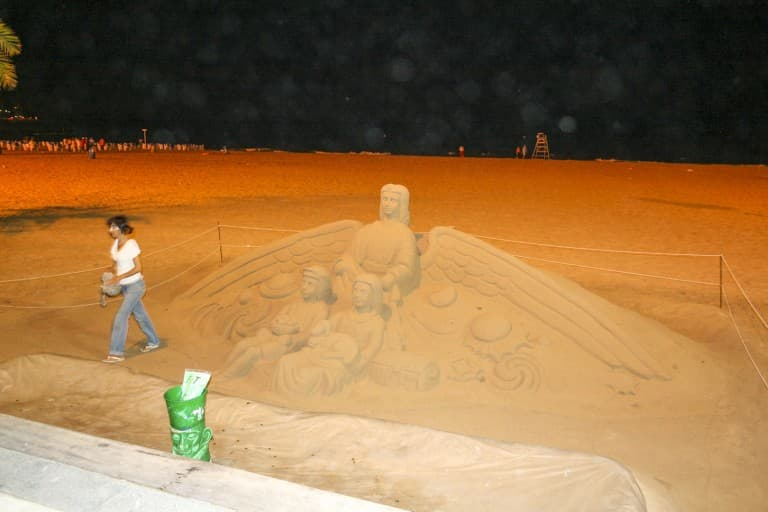 Benidorm (Alicante) – Spain, Angel Sand Sculpture