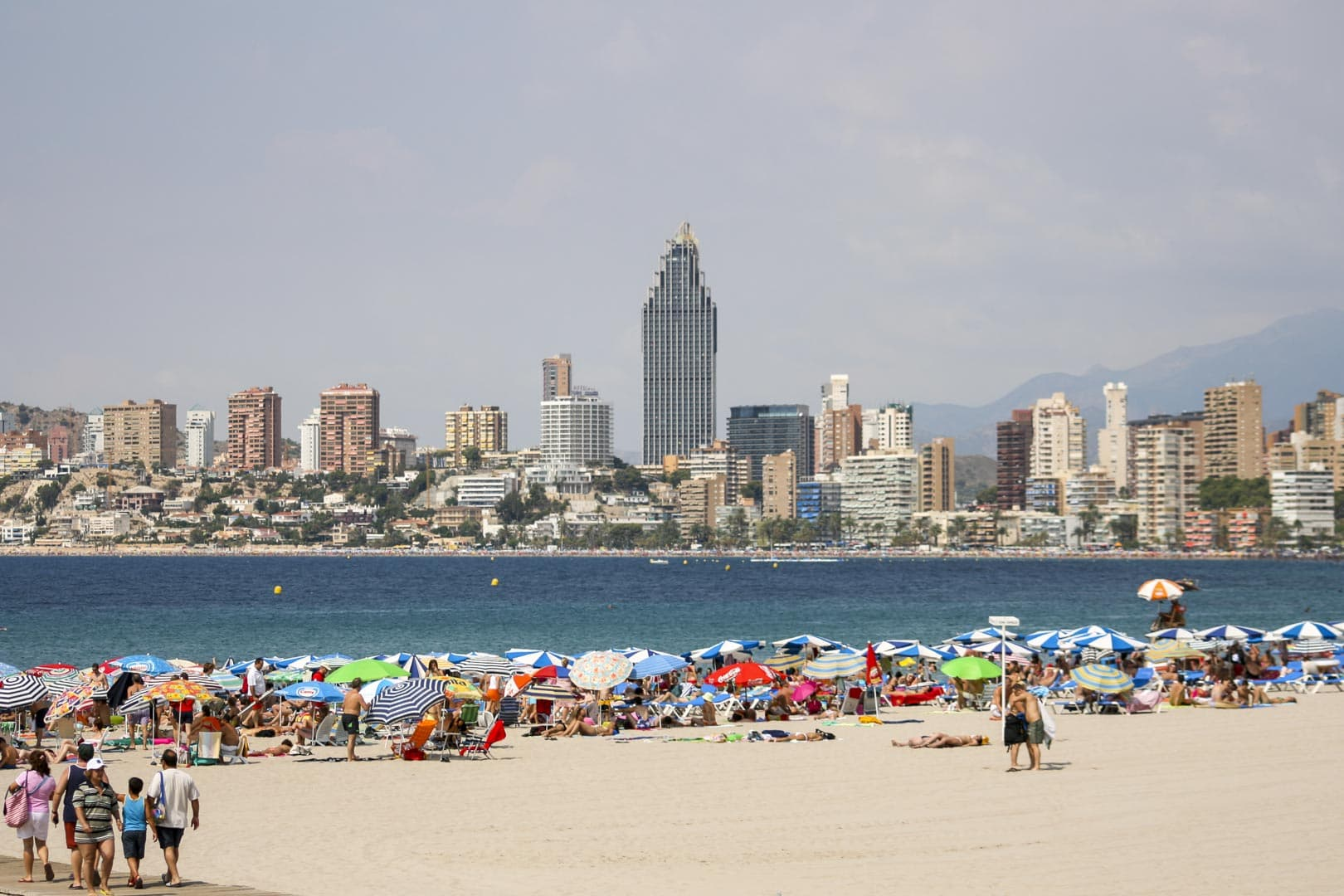 Benidorm (Alicante) – Spain, Beach and Skyline