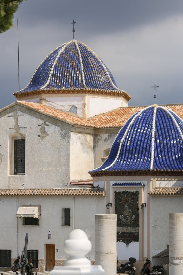 Benidorm (Alicante) – Spain, Church Domes