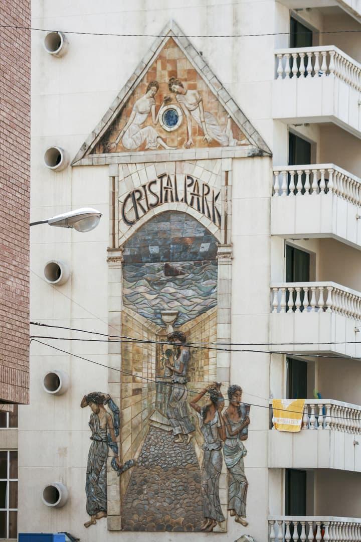 Benidorm (Alicante) – Spain, Cristal Park Mural