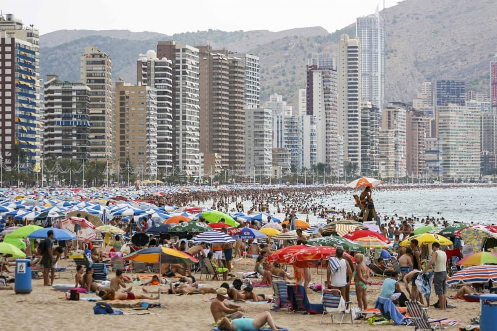 Benidorm (Alicante) – Spain, Main Beach