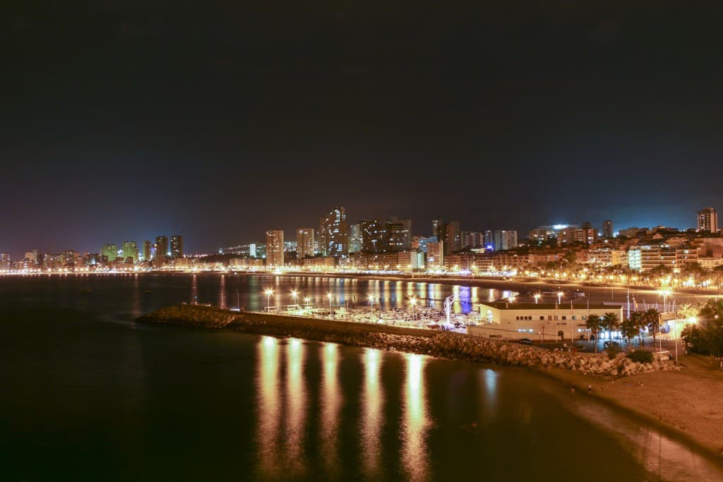 Benidorm (Alicante) – Spain, Skyline by Night