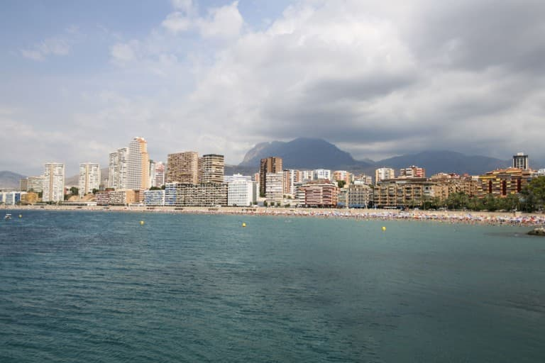 Benidorm (Alicante) – Spain, View from the Sea