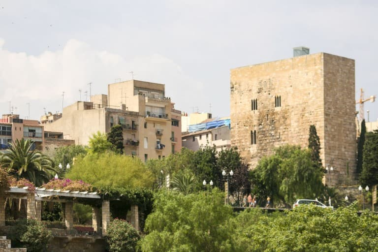 Some houses and other buildings in Tarragona