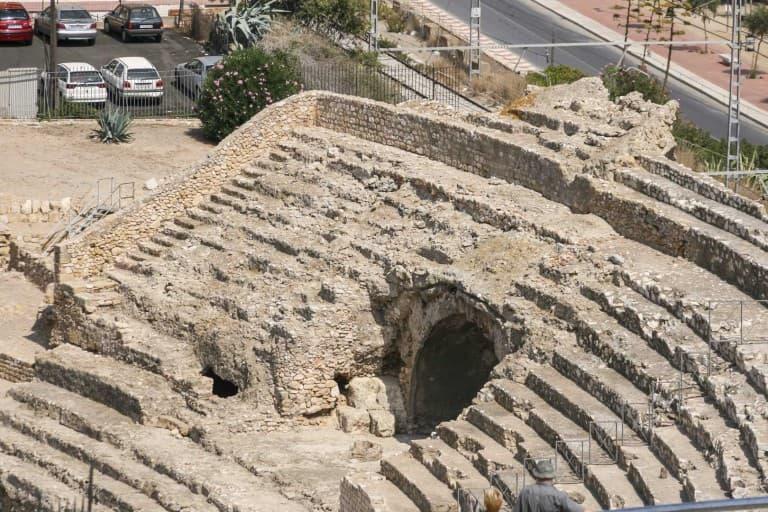 Remains of Roman Amphitheatre of Tarragona
