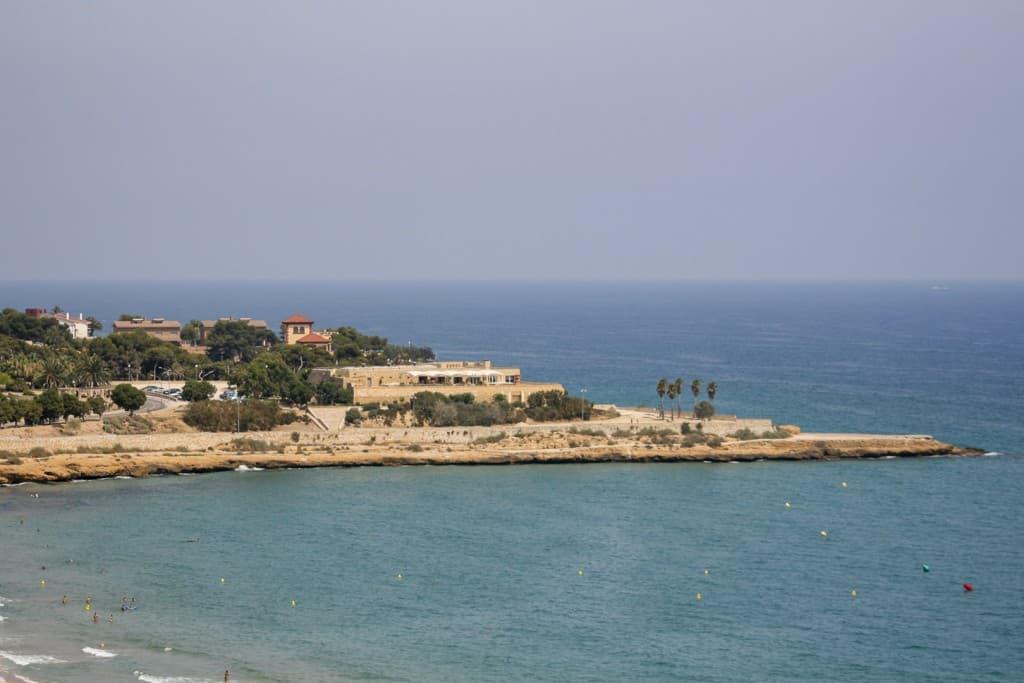 The maritime coast of Tarragona