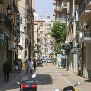 One of the streets of Tarragona