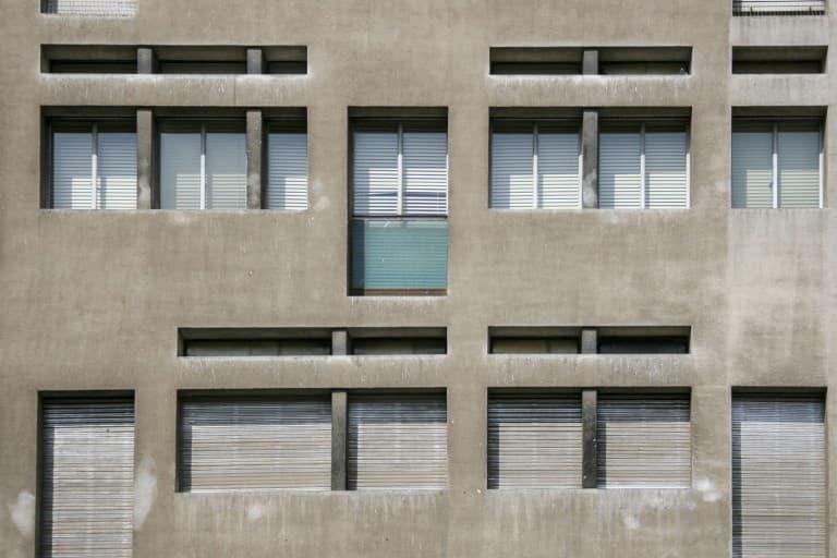 Minimal architecture of the windows in Tarragona