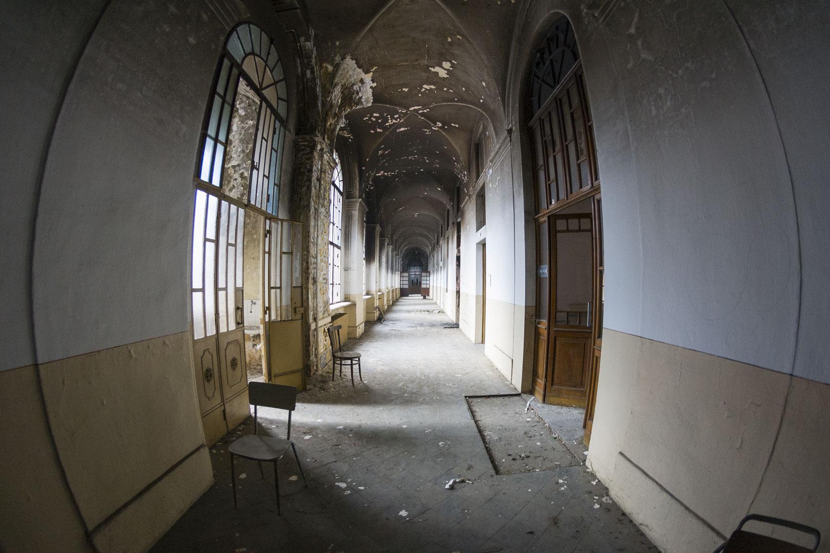 Abandoned Mental Asylum – Racconigi, Italy