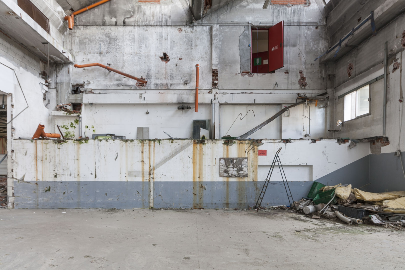 """Abandoned """"Elbi"""" Electrical Components Manufacturing Factory – Collegno, Italy"""