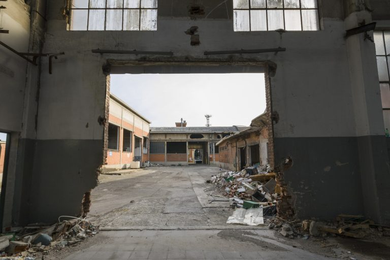 "Abandoned ""Elbi"" Electrical Components Manufacturing Factory – Collegno, Italy"