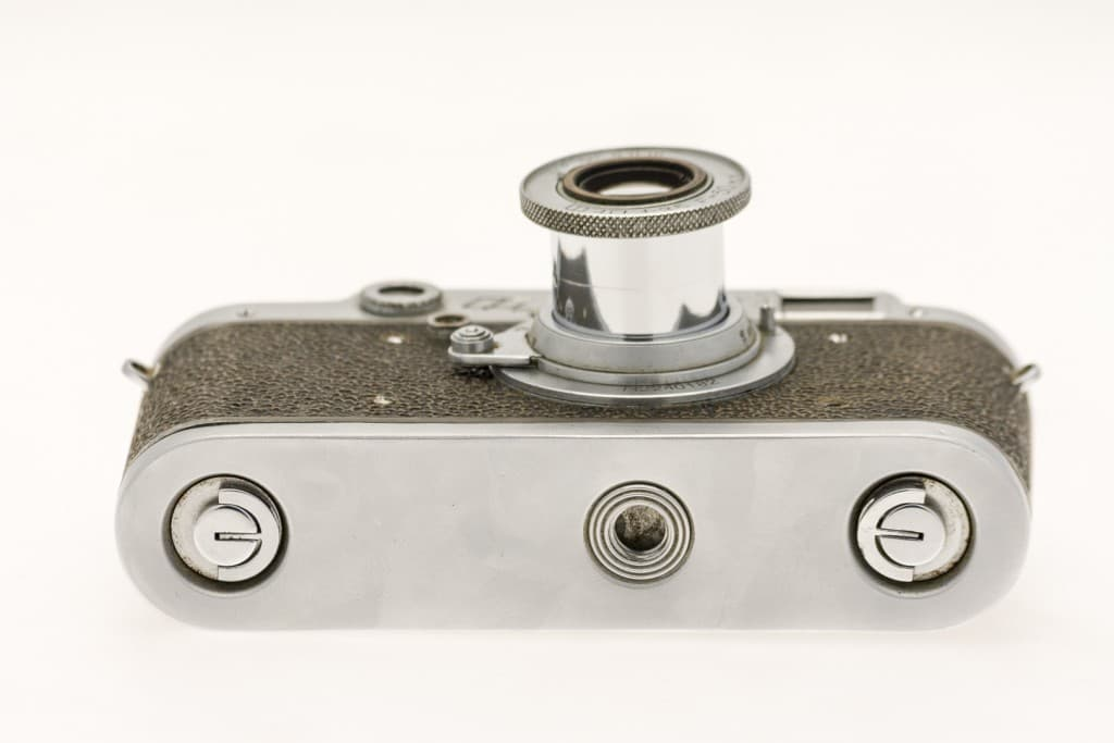 FED 2 (ФЭД) Soviet 35mm Rangefinder Film Camera Bottom View