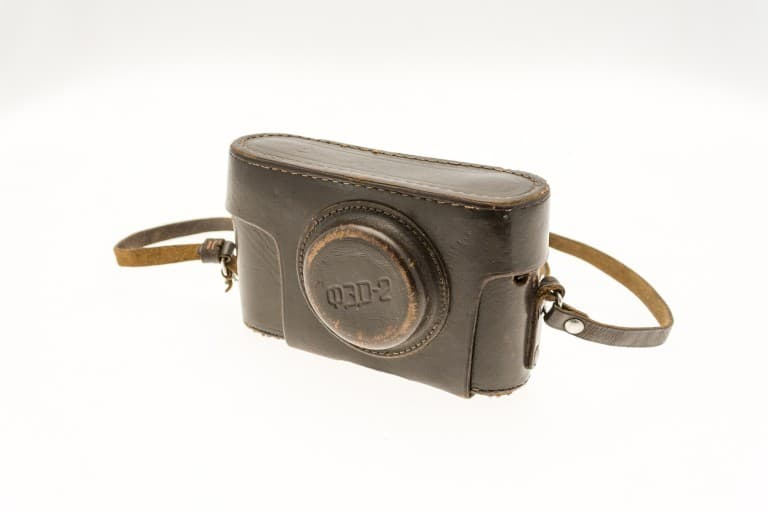 FED 2 (ФЭД) Soviet 35mm Rangefinder Film Camera Leather Cover