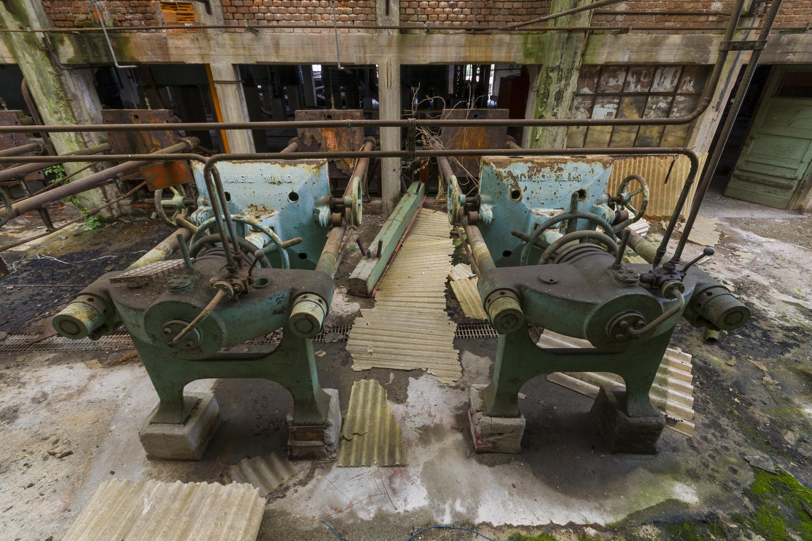 "Abandoned Piedmont Industry of Aniline Colors ""IPCA"" – Ciriè, Italy"