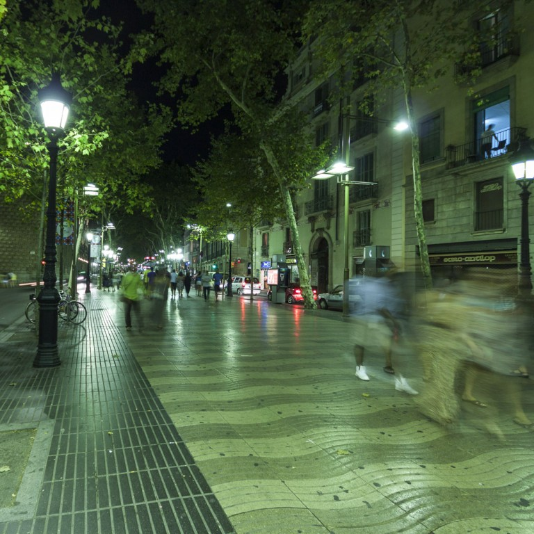 Barcelona – Spain – by night