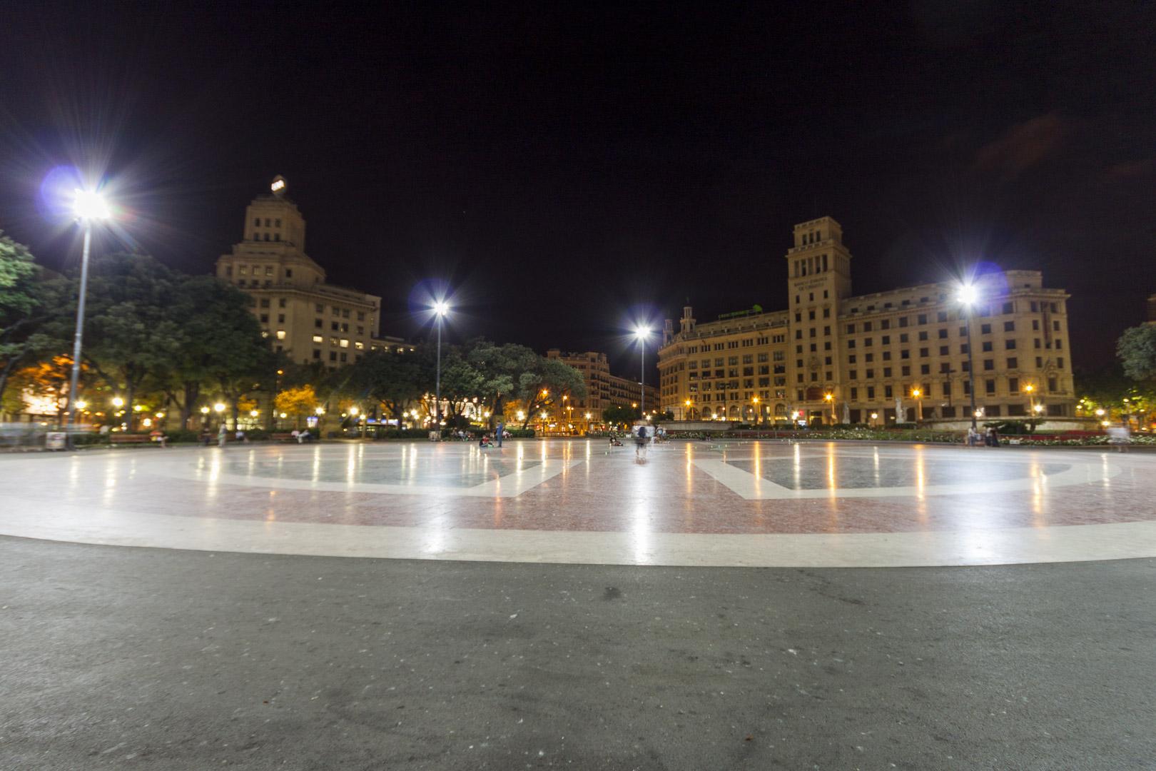 Barcelona – Spain – by night