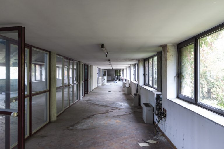 "Abandoned ""DEA"" Quality Information System Factory – Moncalieri, Italy"