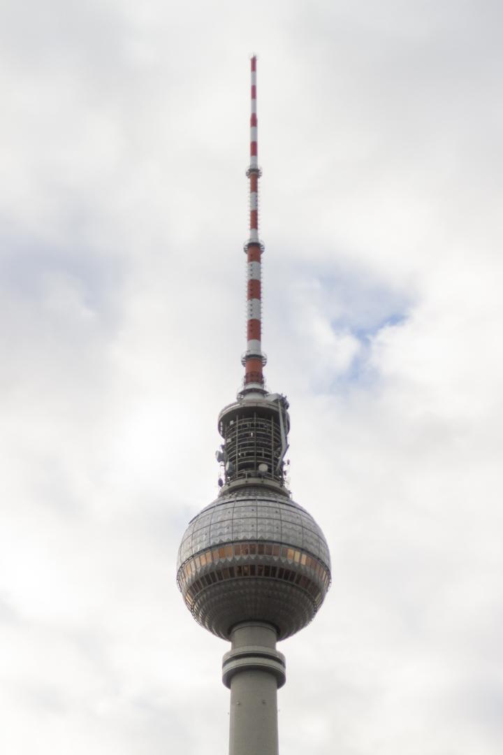 Berliner Fernsehturm in Berlin – Germany