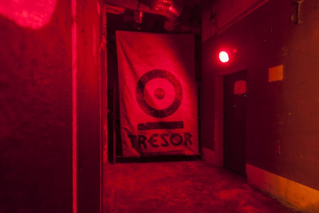 Tresor Techno Club Logo in Berlin – Germany