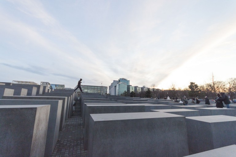 Memorial to the Murdered Jews of Europe in Berlin – Germany