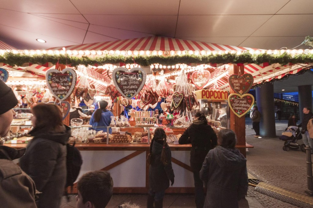 Christmas Market at the Potsdamer Platz in Berlin – Germany