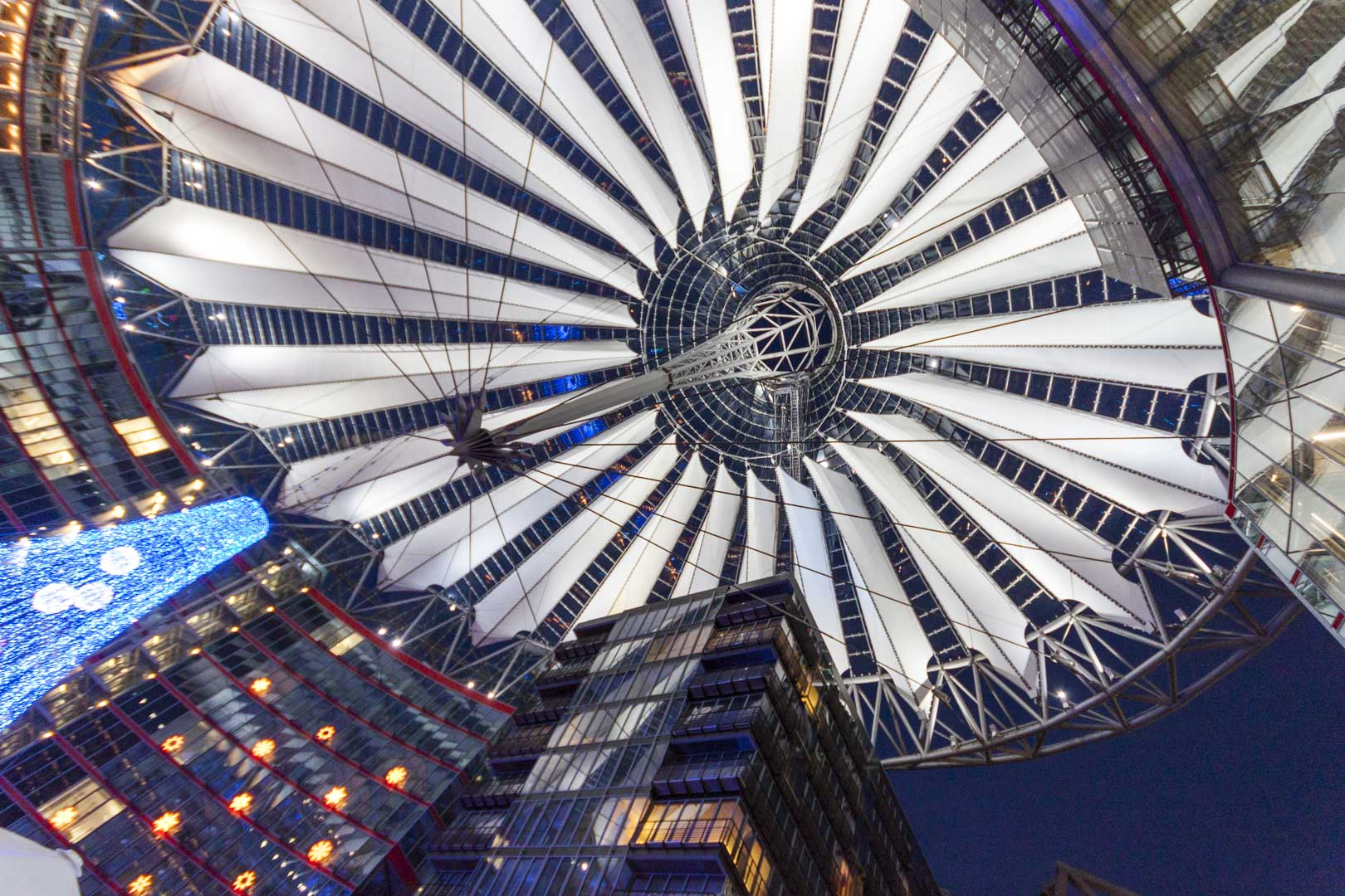 Sony Center in Berlin – Germany