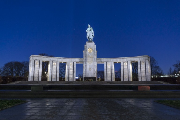Russisches Ehrenmal Tiergarten in Berlin – Germany