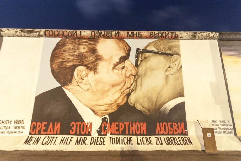 East Side Gallery in Berlin – Germany