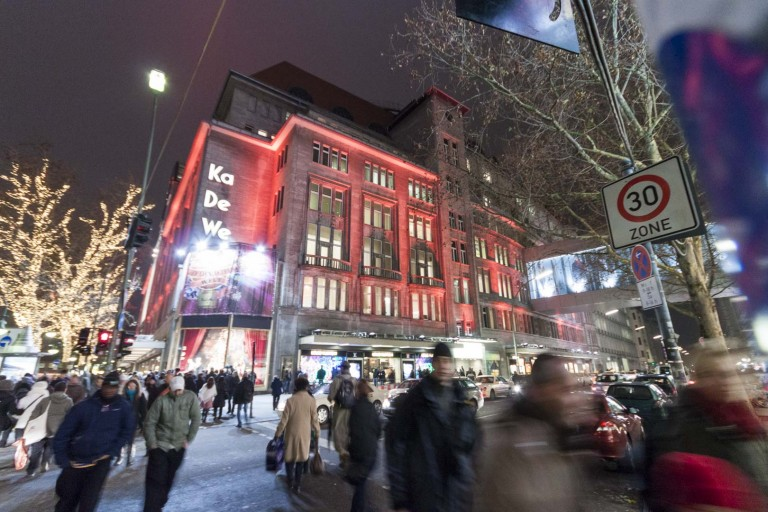 Kaufhaus des Westens Shopping Center in Berlin – Germany