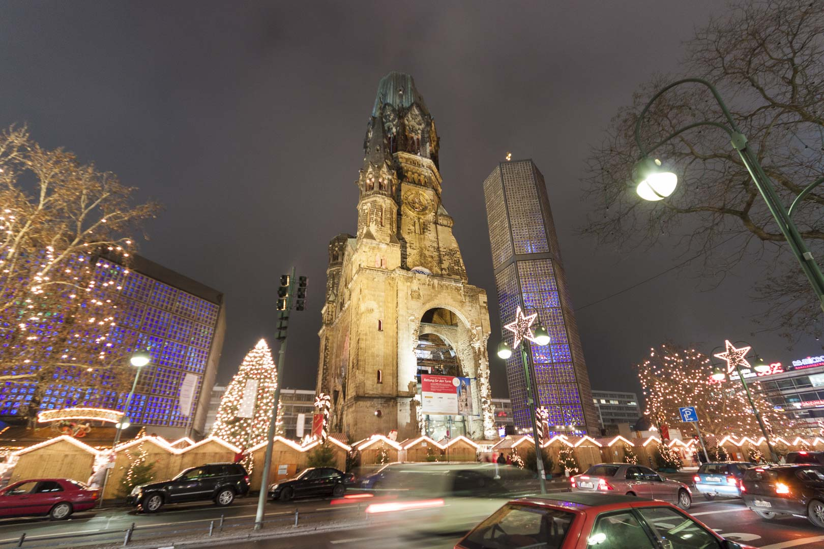 Kaiser Wilhelm Memorial Church in Berlin – Germany