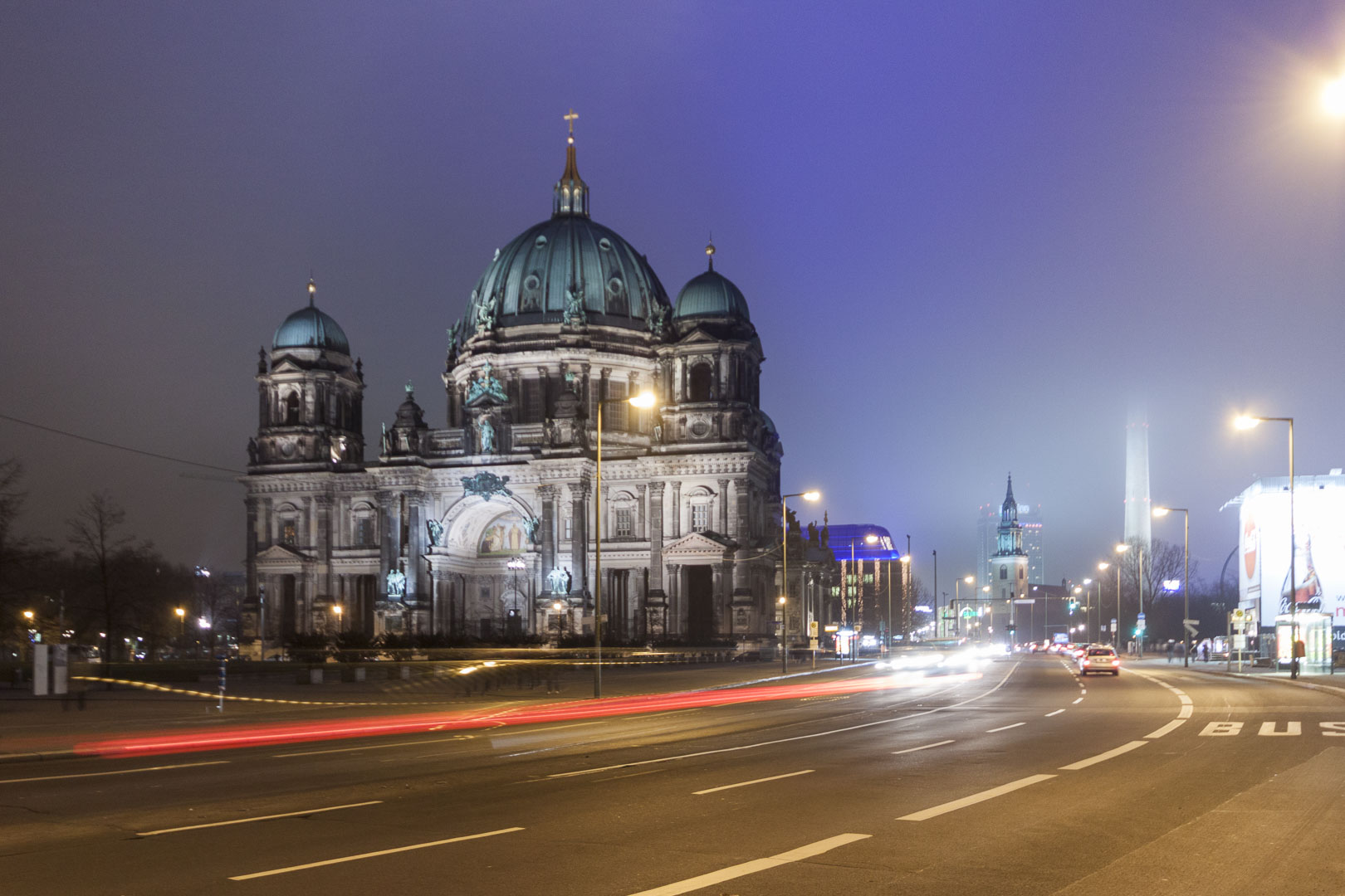 Berlin Cathedral Church by Night – Germany