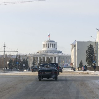 The Palace of Culture of Chemists in Dzerzhinsk, Nizhegorodskaya Oblast – Russia