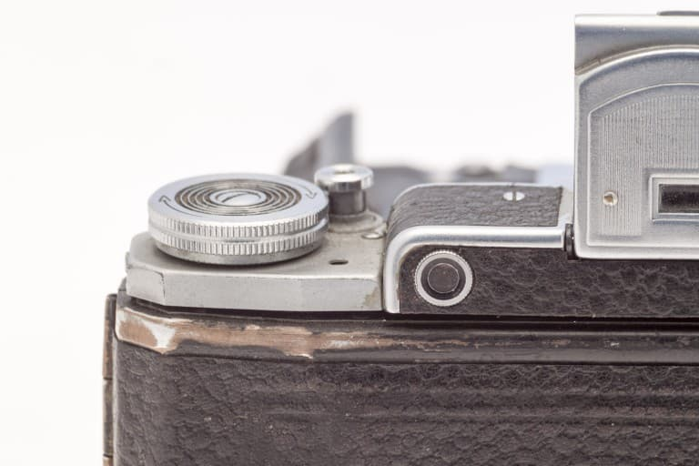Moskva 2 (Москва) – Soviet 6x9cm Folding Film Camera Back Detail