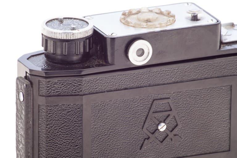 Smena 2 (Смена) – Soviet 35mm Compact Film Camera Rear Detail