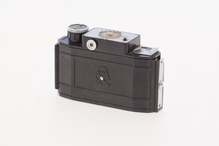 Smena 2 (Смена) – Soviet 35mm Compact Film Camera Side View