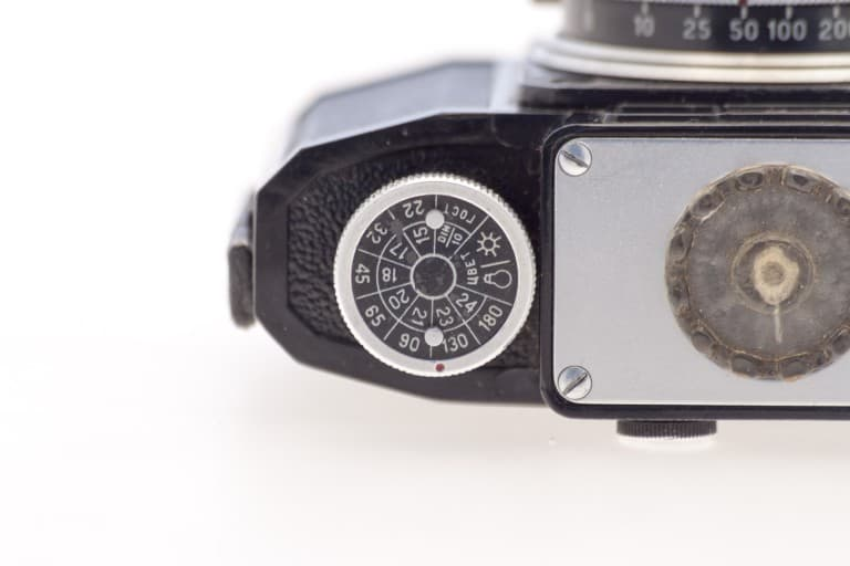 Smena 2 (Смена) – Soviet 35mm Compact Film Camera Top Detail