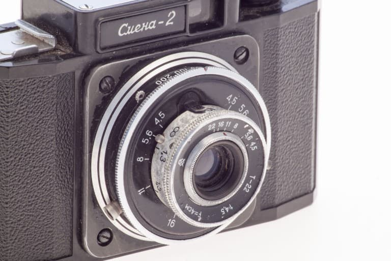 Smena 2 (Смена) – Soviet 35mm Compact Film Camera Triplet 22 Lens