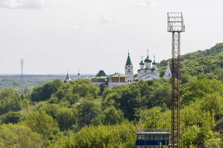 Voznesenskiy Pechyorskiy muzhskoy monastyr', Nizhny Novgorod – Russia