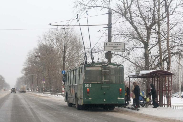 Trolleybus in Nizhny Novgorod – Russia